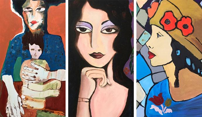 shatila paintings