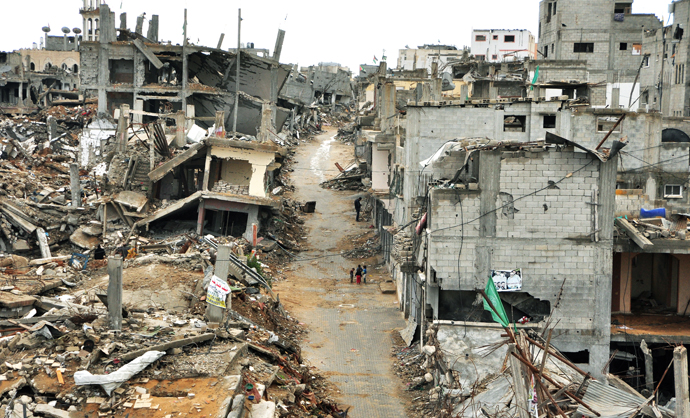 Shejaiya neighbourhood one of the worst affected areas from summer conflict in Gaza