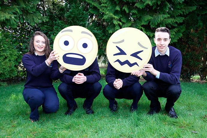 Ali O'Connor, Patrick Conlon, Edel Calbby and Juan Padilla from Mercy Secondary School, Ballymahon Longford.