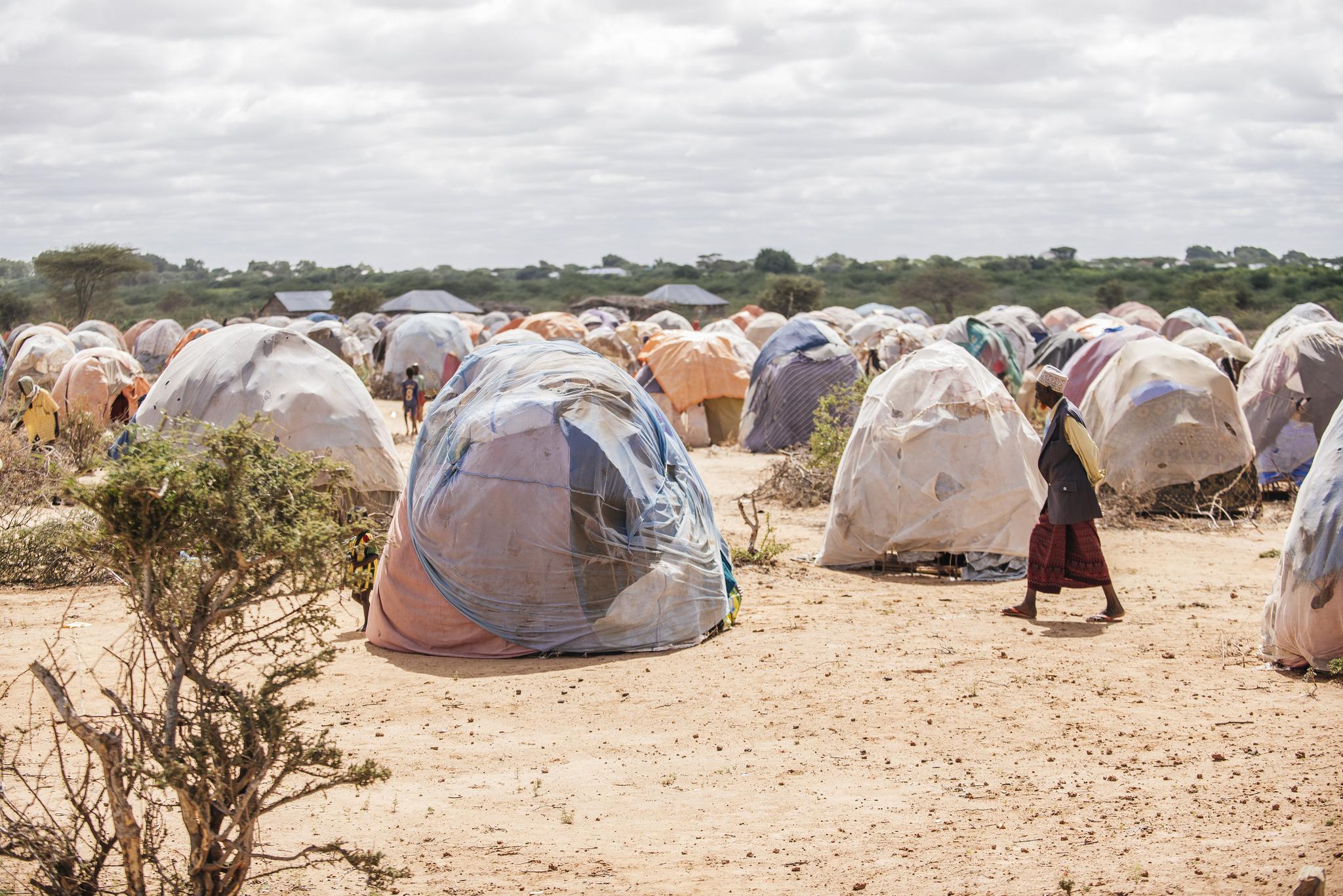 Somalia camp