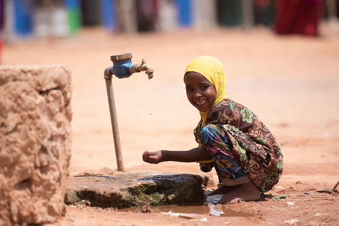 Water project in Somalia