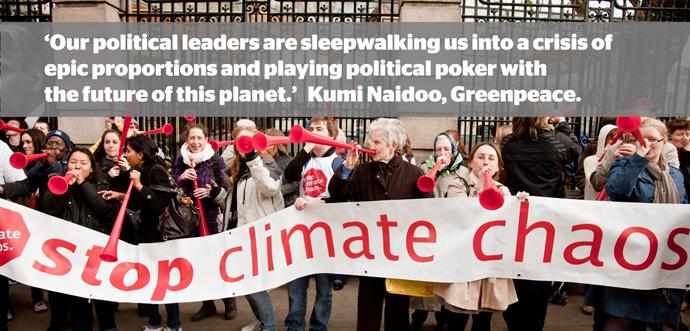 Kumi naidoo climate quote