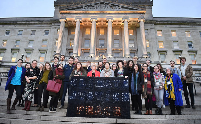 Stormont Climate Lobby Event November 2016