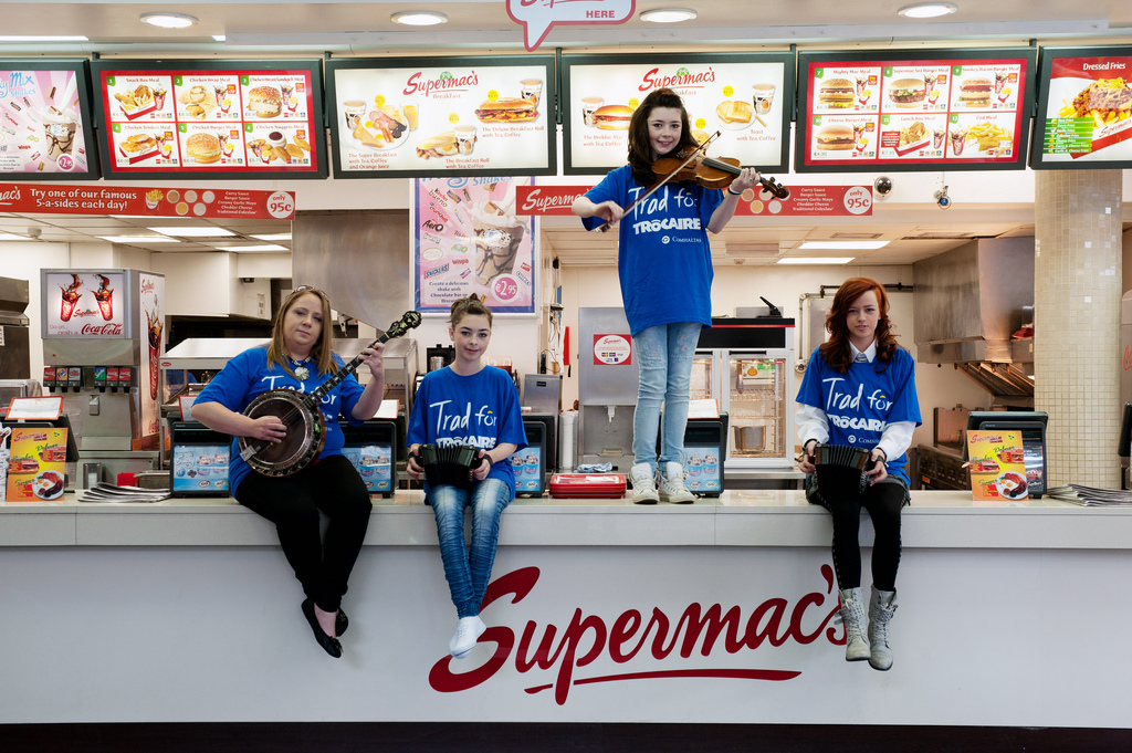 Supermacs supporting Trócaire
