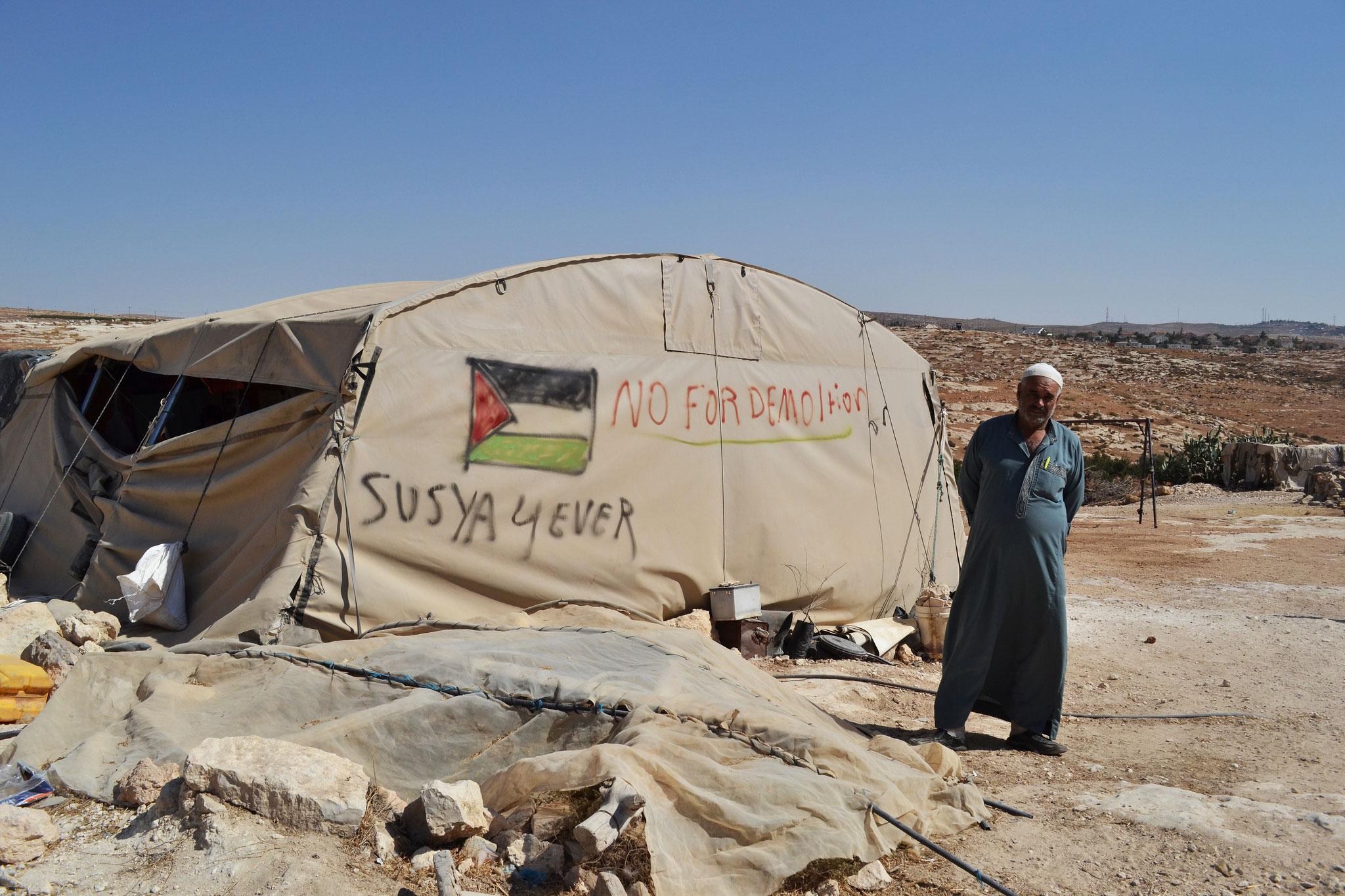 Susiya village, West Bank