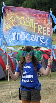 Trocairfe volunteer