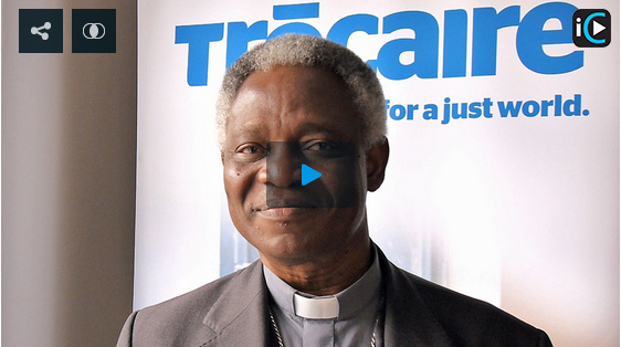 Cardinal Turkson shares some thoughts on Trócaire's work on climate justice