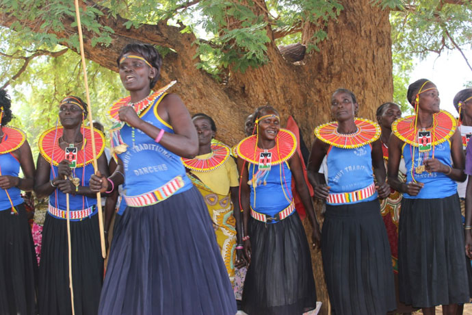 West Pokot women, Kenya