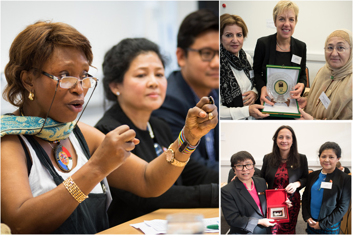 Delegates from Sierra Leone, Myanmar and Pakistan spoke at an event on Women's Leadership organised by Trócaire and Christian Aid. Catherine Martin TD and Senator Ivana Bacik both were presented with gifts from the delegates for their work on the Congress