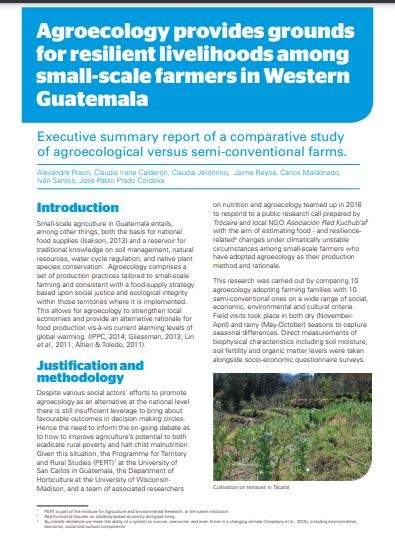 Agroecology in Western Guatemala
