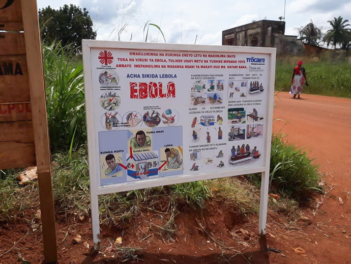 The DRC is currently experiencing the second largest Ebola outbreak in the world, and over 2000 people have died.