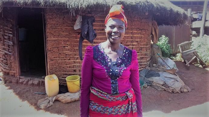 Marie Dz'Venga, NPM Kparnganza member. (Photo : Gabrielle MUKE VANKA / Trócaire)