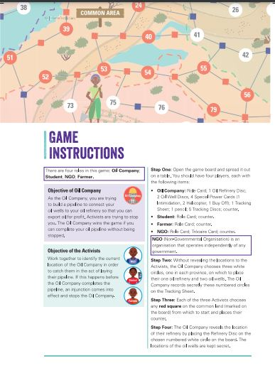 The Exploitation Game & Instructions