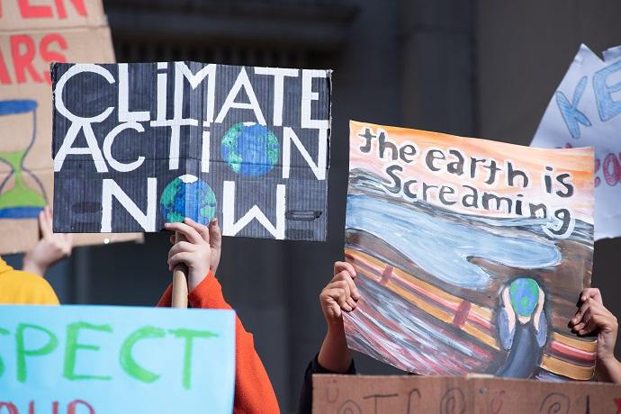 Dublin Climate Strikes, September 2019. Photo : Garry Walsh