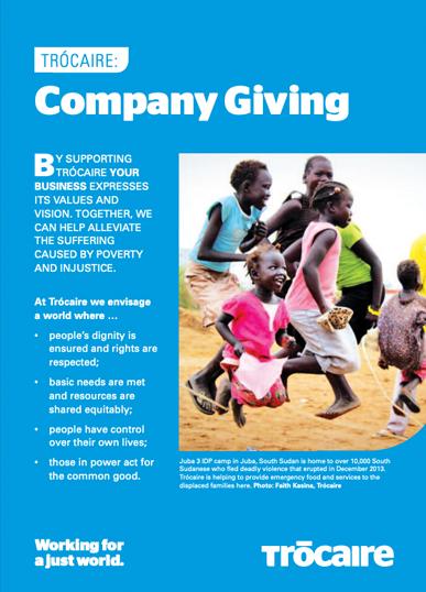 Company Giving Brochure