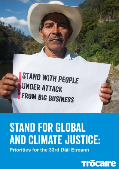 Stand for Global and Climate Justice: priorities for the 33rd Dail