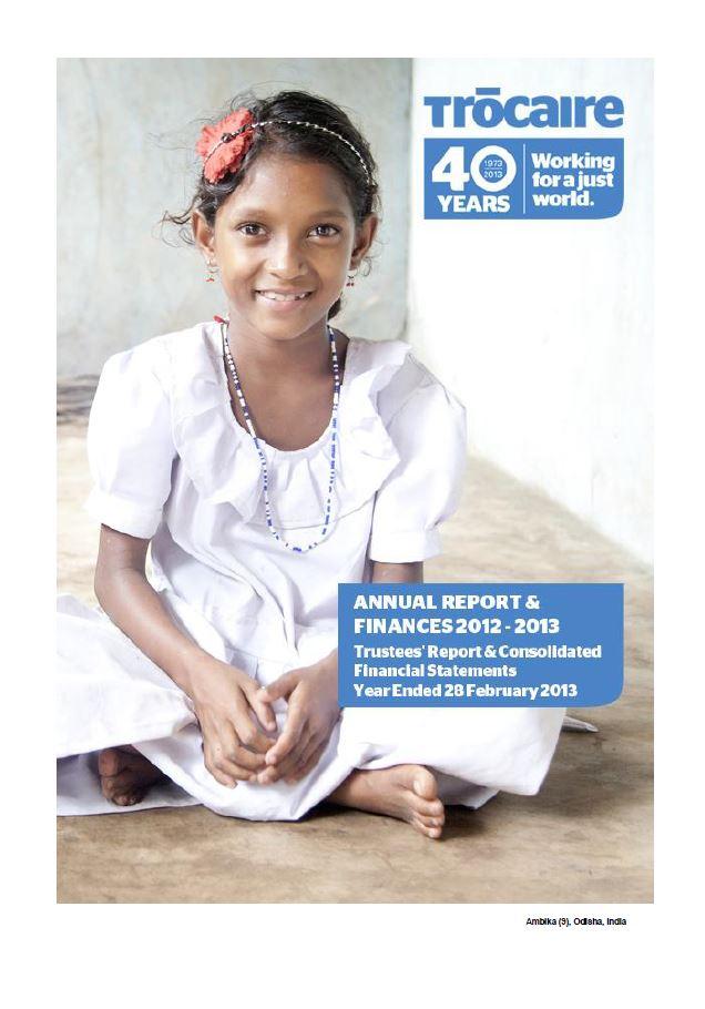 2012-13 Trócaire Annual Report