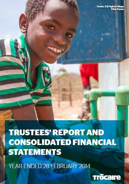 2013-14 Trócaire Annual Report