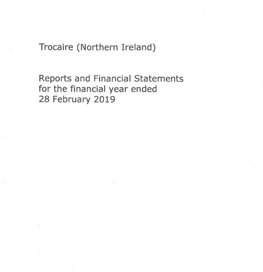 2018-19 Trócaire Northern Ireland Annual Report