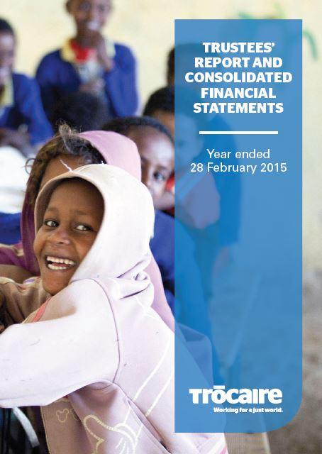 2014-15 Trócaire Annual Report