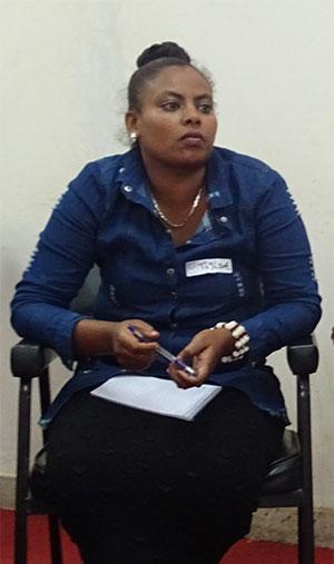 Tigist Shimeles, OPA Community Facilitator