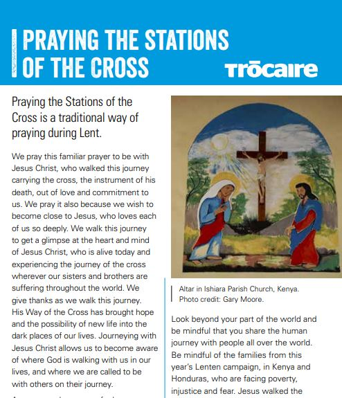 Stations of the Cross Lent 2020