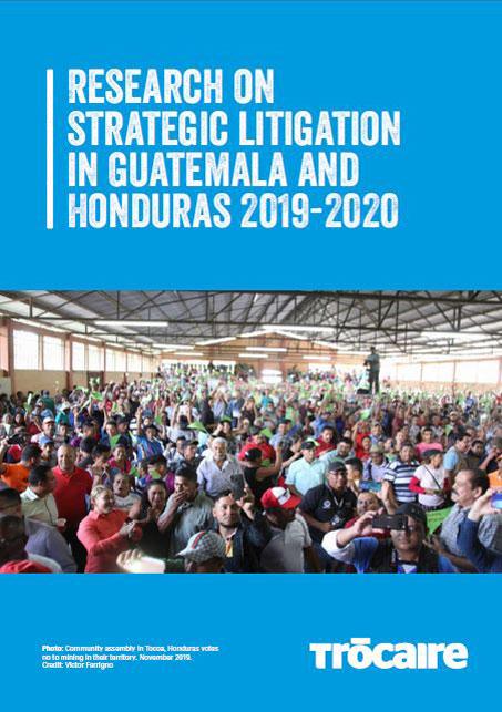 Research on Strategic Litigation in Guatemala and Honduras 2019-2020