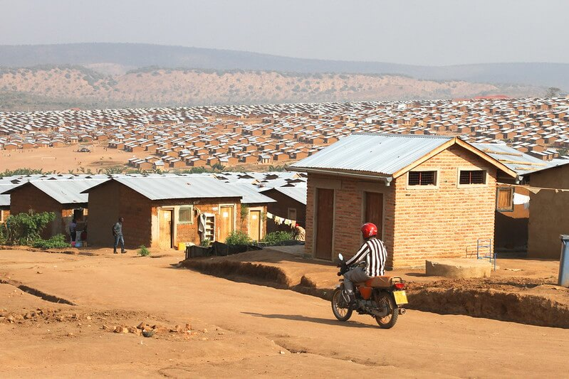 The Mahama Refugee camp in Eastern Rwanda houses over 53,000 Burundian refugees. Photo: Alan Whelan/Trócaire.