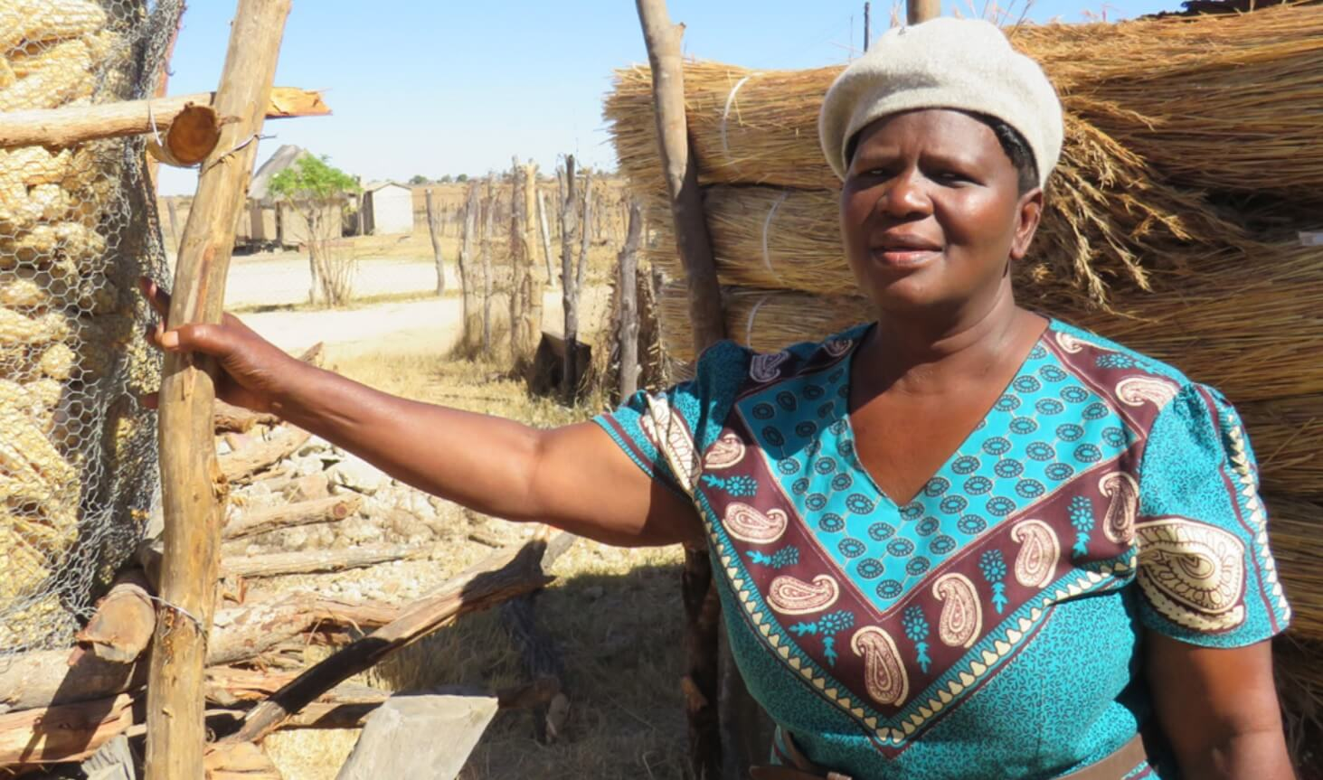 Caption : Councillor of Ward 18, Insiza District, Zimbabwe, Jostina Ndondo, who has supported women advocacy groups. Credit: Nyasha Sanie (Zimbabwe Lawyers for Human Rights)