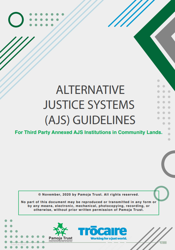 Alternative Justice Systems regulations