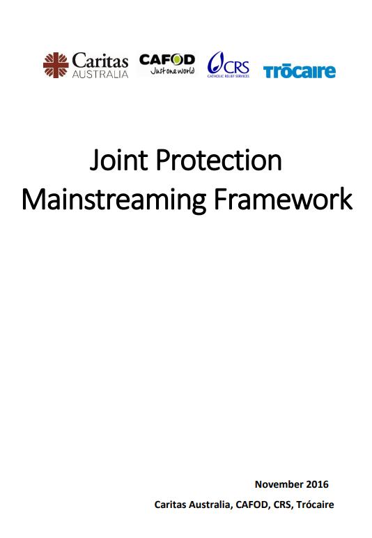 Protection Mainstreaming Framework