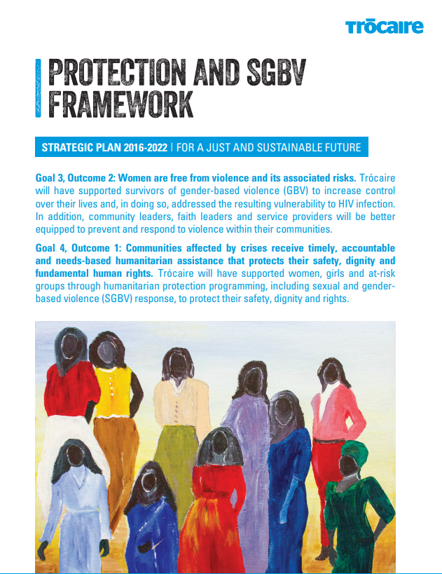 Protection and SGBV Framework