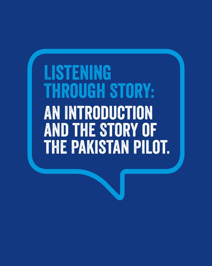 Listening Through Story:  An Introduction  and the Story of the Pakistan Pilot