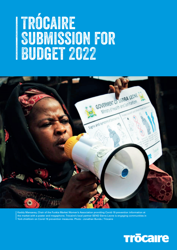 Trócaire Submission for Budget 2022